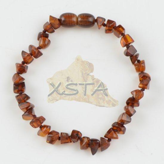 Light Cherry amber bracelet with clasp