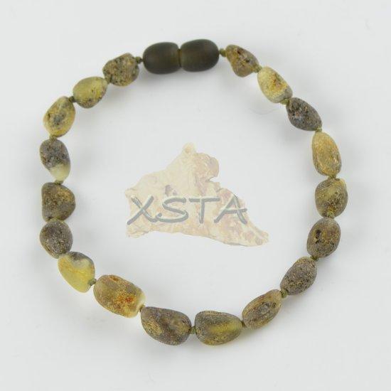 Amber raw unpolished bracelet plums beads