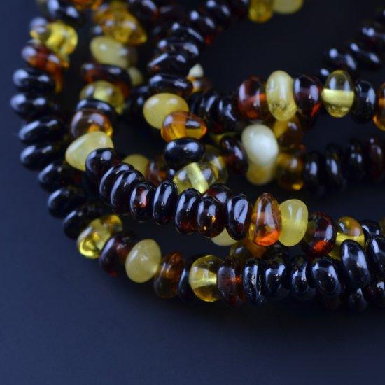 Multicolored beads bracelet