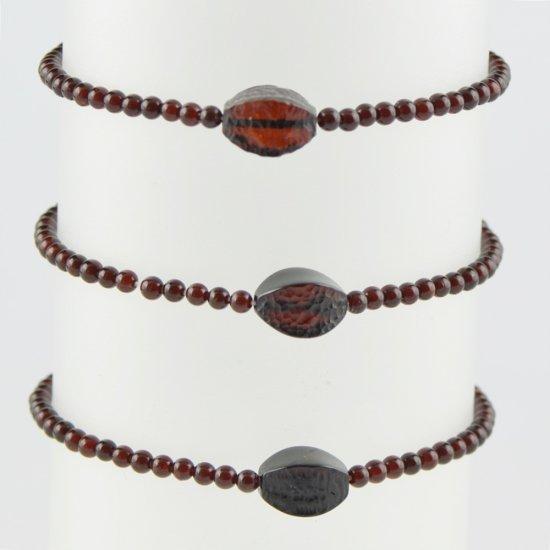 Amber bracelet Small bracelet cherry