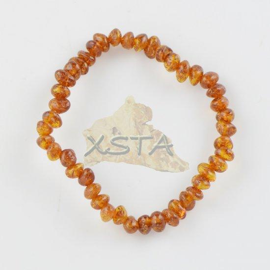 Amber teething bracelet small beads