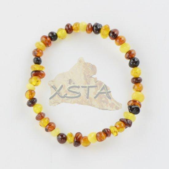 Baltic Amber teething bracelet tiny beads