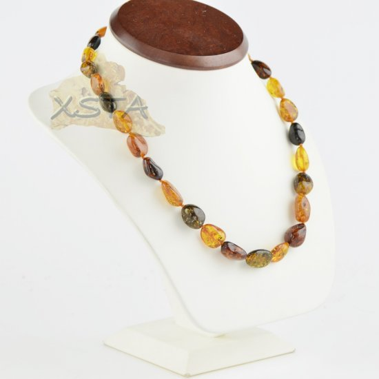 Amber necklace 50 cm long