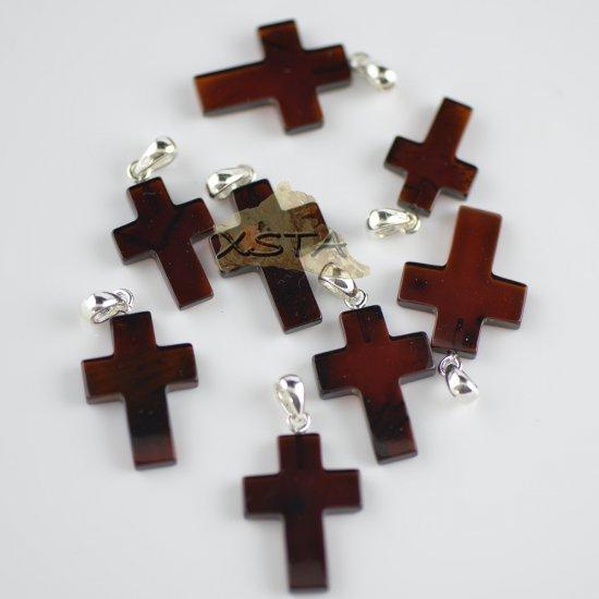 Amber cross cherry color