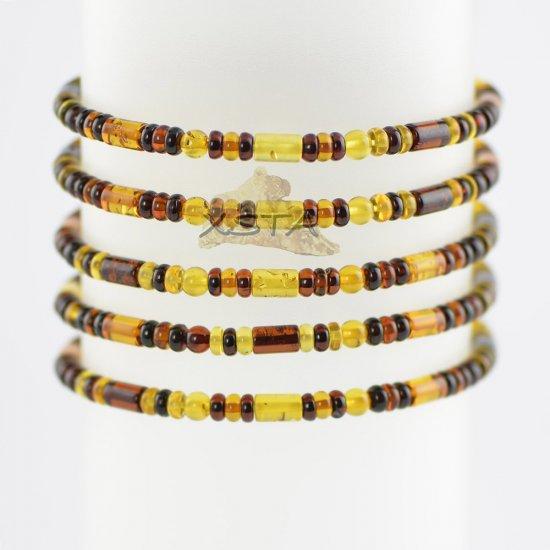 Mixed bead bracelet for men