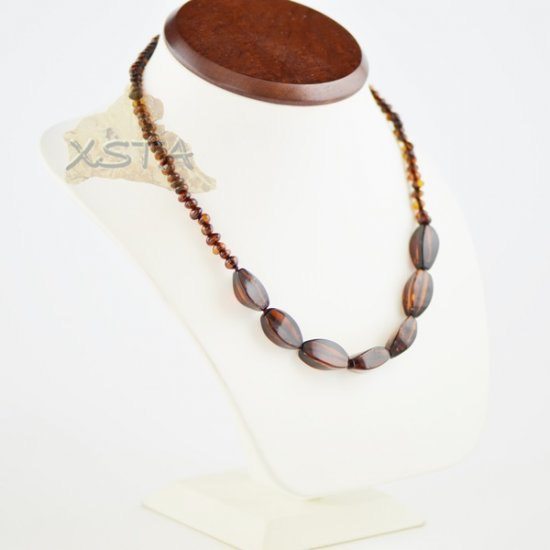 Amber natural cherry necklace for adults