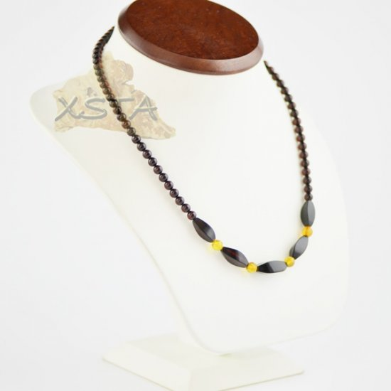 Amber natural necklace for adults