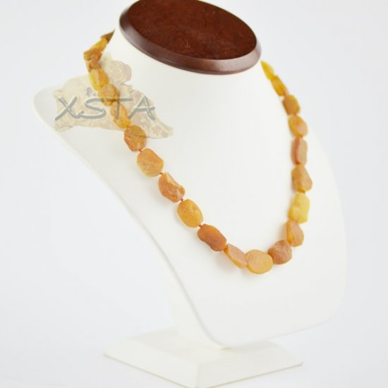 Wholesale Raw amber necklace for adults