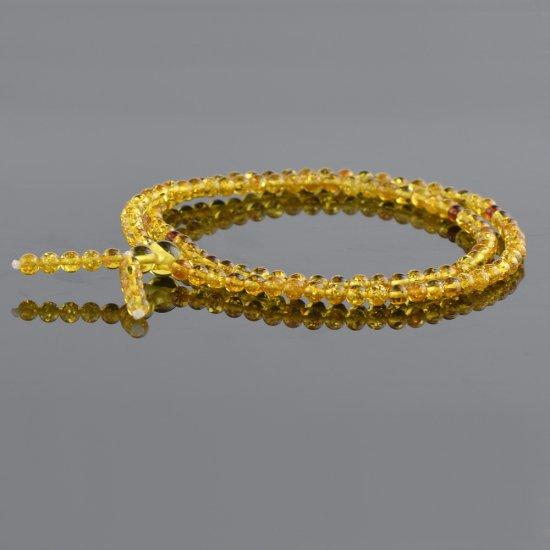 Honey mala prayer beads