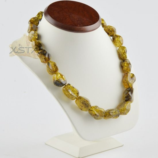 Amber necklace for women