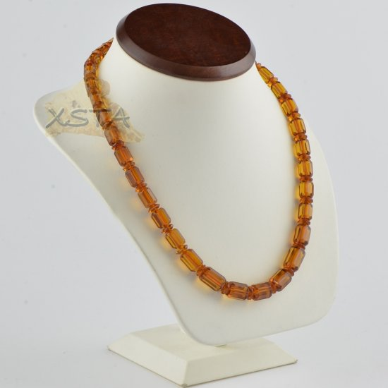 Amber necklace jewelry for men