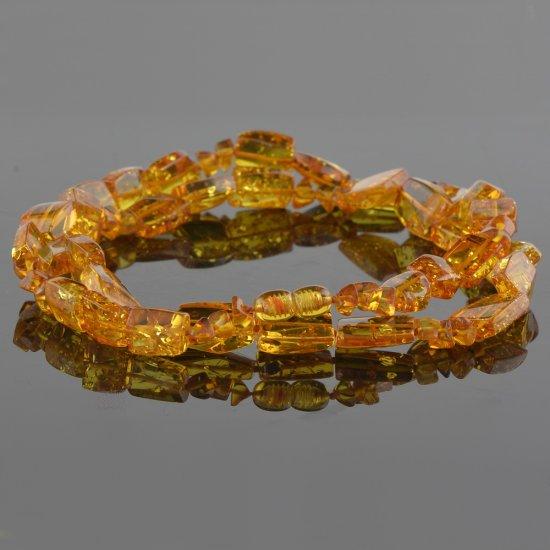 Amber necklace luxury beads