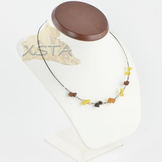 Amber necklace Mix Raw