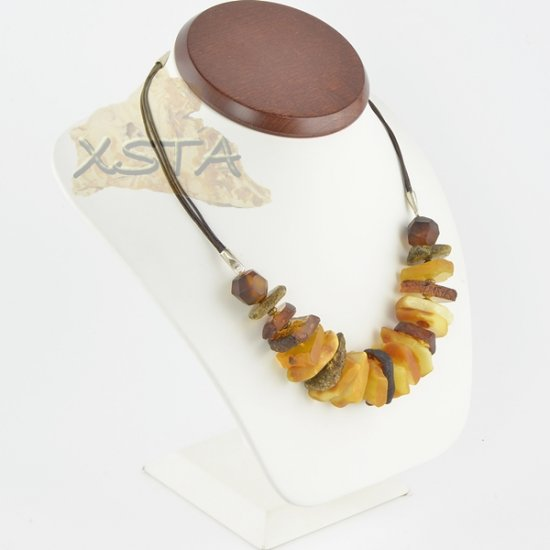 Amber necklace mix