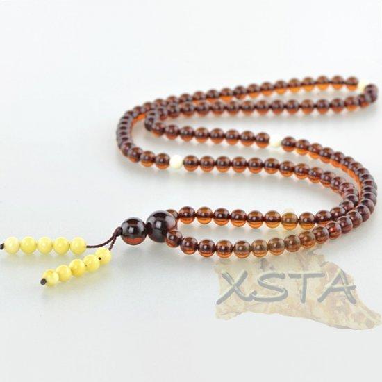 Amber rosary Tibetan Buddhist