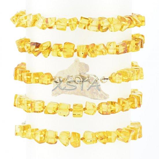 Baltic amber bracelet honey
