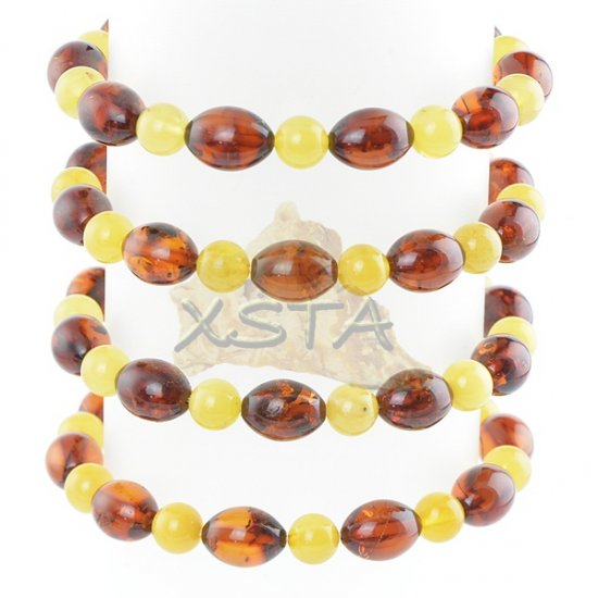 Baltic amber bracelet - natural amber