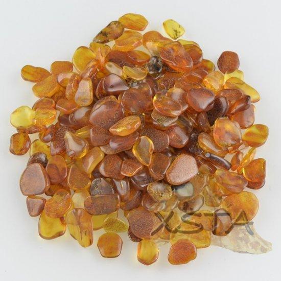 Baltic amber stones material