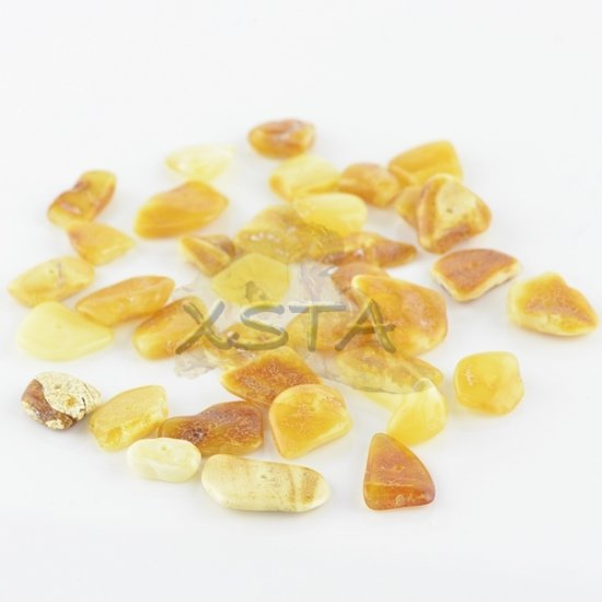 Butter chips Baltic amber beads