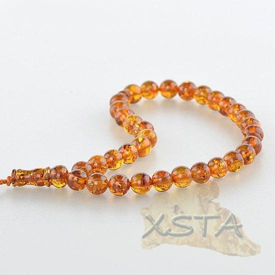 Mala prayer beads amber rosary