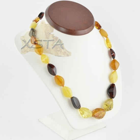 Mix amber necklace for adult