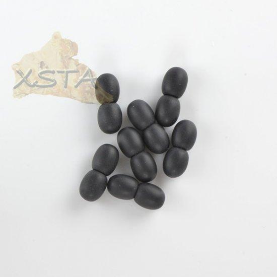 Raw unpolished black screw clasp