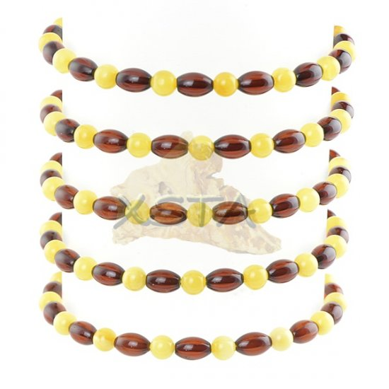 Wholesale amber round tube bracelet