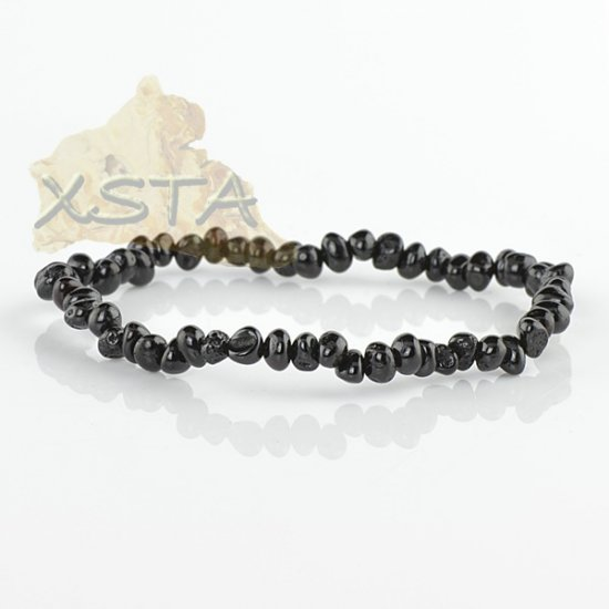 Small beads amber bracelet for adult