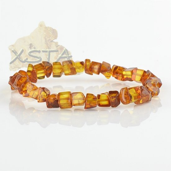 Amber bracelet cognac