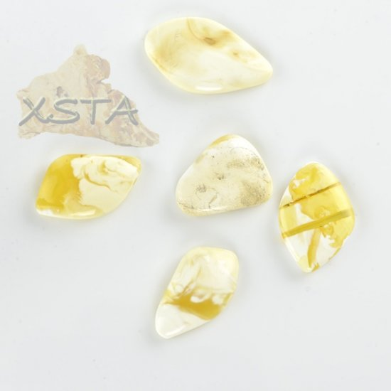 amber cabochons for ring manufacturing